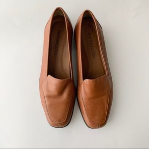 naturalizer simmons loafer | brown